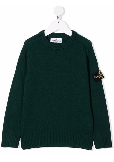 Maglione verde STONE ISLAND KIDS | 7516506A1V0057