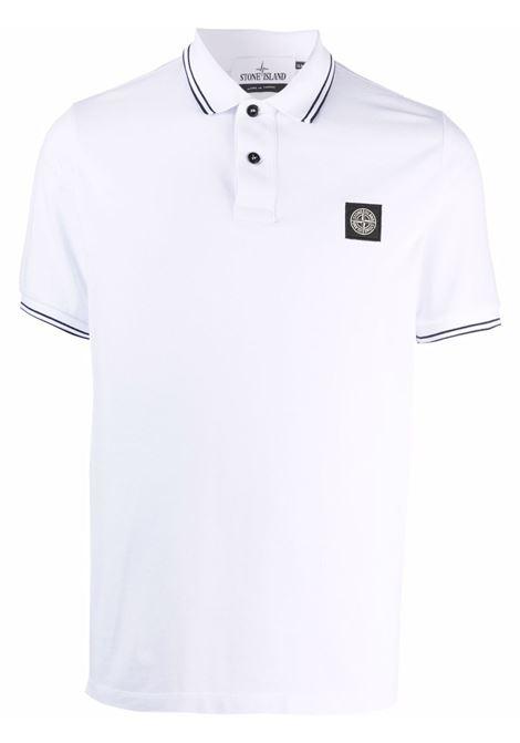White Polo shirt STONE ISLAND | POLO | 751522S18V1001