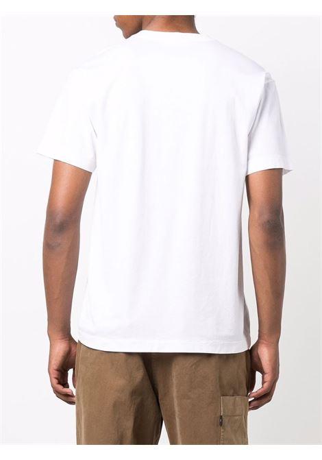 White t-shirt STONE ISLAND | T-SHIRT | 751524113V0001