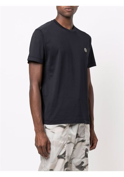 T-shirt blu STONE ISLAND | T-SHIRT | 751524113V0020
