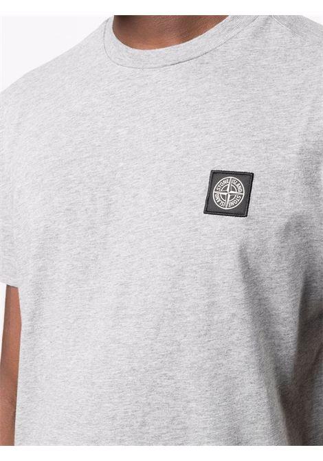 Grey t-shirt STONE ISLAND | T-SHIRT | 751524113V0M64