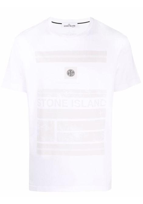 T-shirt bianca STONE ISLAND | 75152NS78V0001