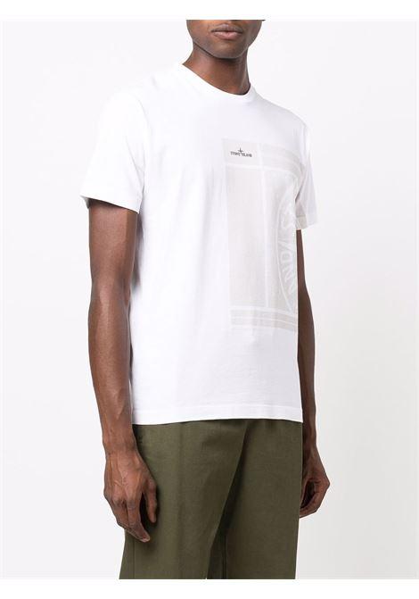 White t-shirt STONE ISLAND | T-SHIRT | 75152NS81V0001