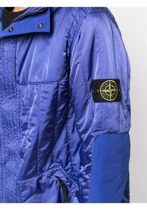Blue padded jacket STONE ISLAND | 751540921V0043