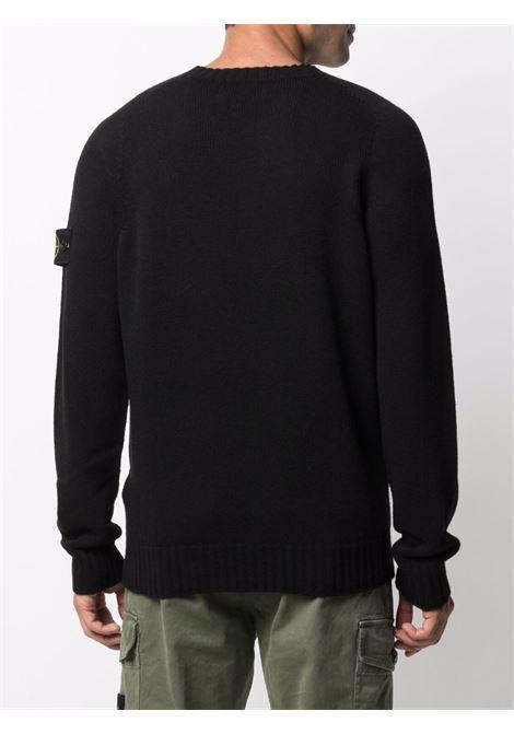Black jumper STONE ISLAND | SWEATER | 7515505A3V0029