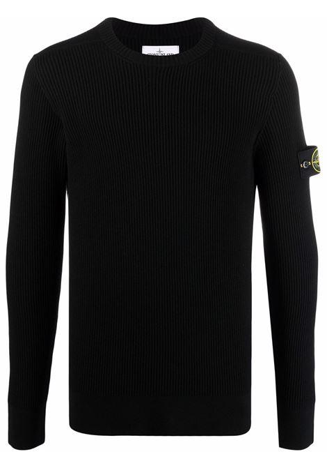 Black jumper STONE ISLAND | SWEATER | 7515521C2V0029