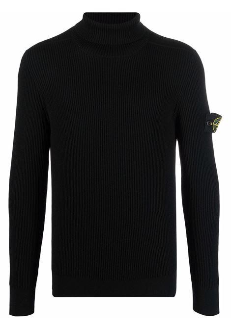 Black jumper  STONE ISLAND | SWEATER | 7515525C2V0029