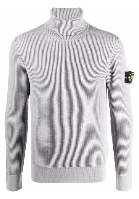 Grey jumper STONE ISLAND | SWEATER | 7515525C2V0061