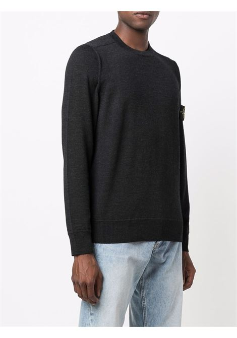 Charcoal pullover STONE ISLAND | PULLOVER | 7515526C4V0065