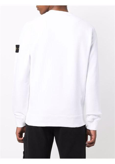 White sweatshirt STONE ISLAND | SWEATSHIRTS | 751563020V0001