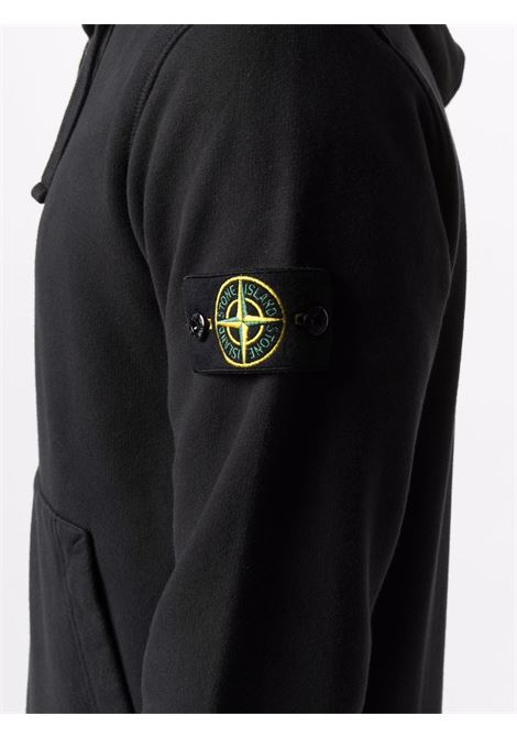 Black sweatshirt STONE ISLAND | SWEATSHIRTS | 751564220V0029