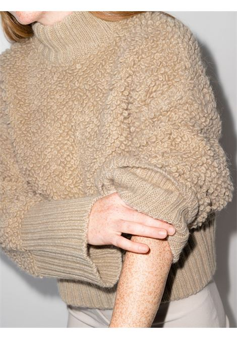 Maglione beige THE ATTICO | MAGLIONE | 213WCK06V029198