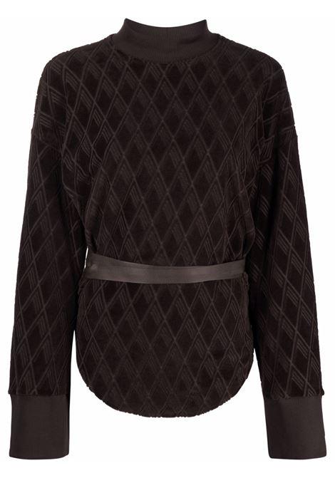 Brown sweatshirt THE ATTICO | 213WCT58C038207