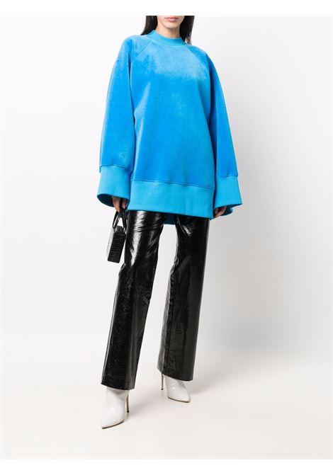 Blue sweatshirt THE ATTICO | 214WCT43C035014