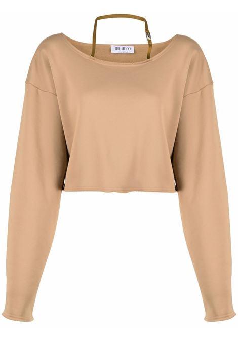 Brown sweatshirt THE ATTICO | 214WCT59J014046