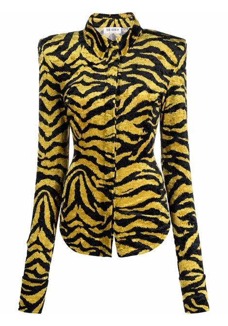 Black/yellow shirt THE ATTICO | 214WCT62P053227