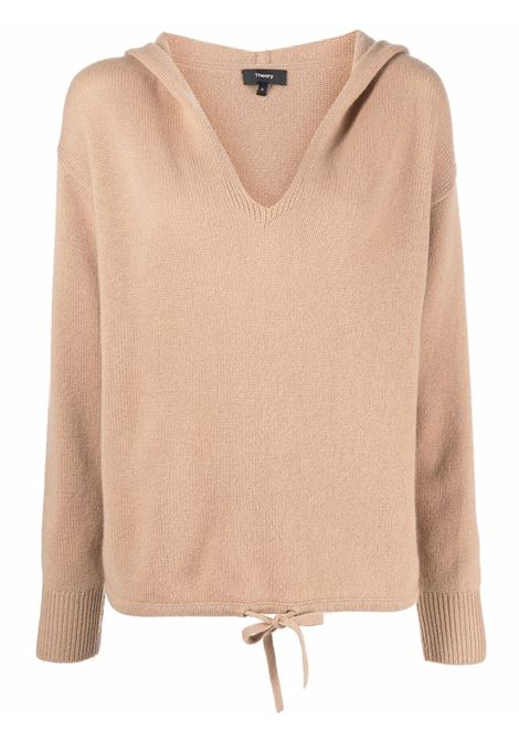 Brown sweatshirt THEORY | L0118708E05