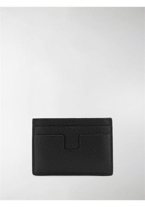 Porta carte TOM FORD | Y0232TCP9BLK