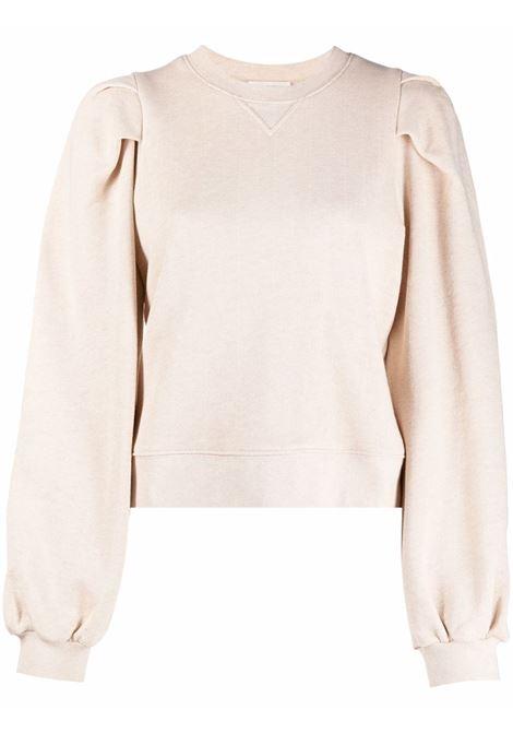 Beige sweatshirt ULLA JOHNSON | PF210704OAT