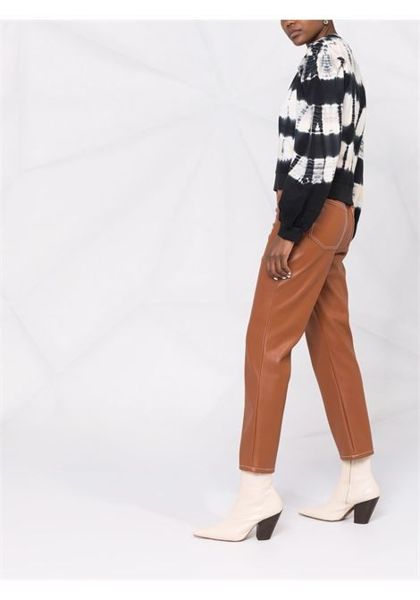 Black/white sweatshirt ULLA JOHNSON | PF210718ATD