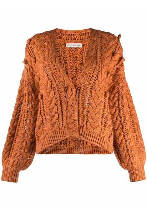 Orange cardigan ULLA JOHNSON | PF210735SIE