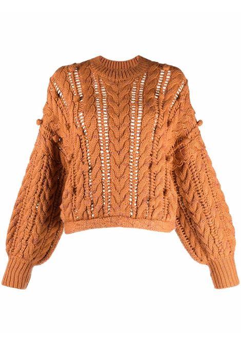 Orange jumper ULLA JOHNSON | PF210736SIE