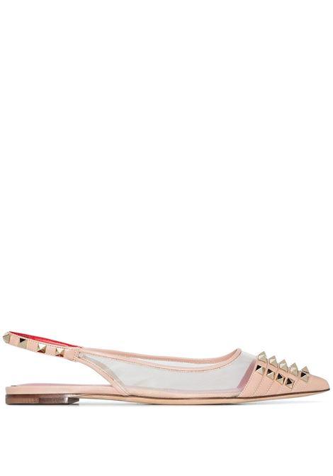 Pink Ballerina shoes VALENTINO GARAVANI | WW2S0CM6TJZE51