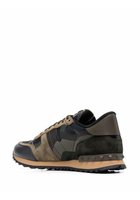 Black/green sneakers VALENTINO GARAVANI | WY2S0723TCCM55