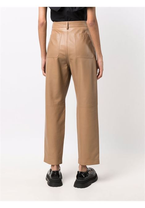 Brown trousers VALENTINO RED | TROUSERS | WR3NF00M639954
