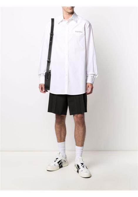 Camicia bianca VALENTINO | CAMICIE | WV3ABA957H8A01