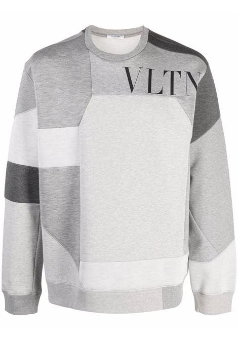 Grey sweatshirt VALENTINO | WV3MF14M7CW080