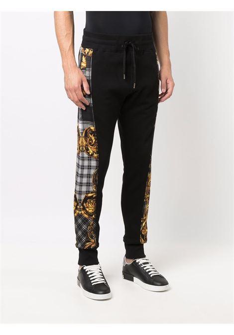 Pantalone nero VERSACE JEANS COUTURE | PANTALONI | 71GAA3C6F000271UP318899