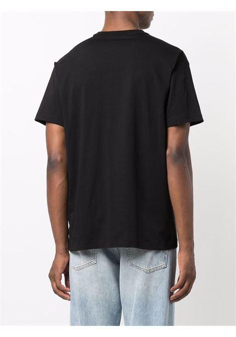 T-shirt nero VERSACE JEANS COUTURE | T-SHIRT | 71GAHT02CJ00T71UP601899