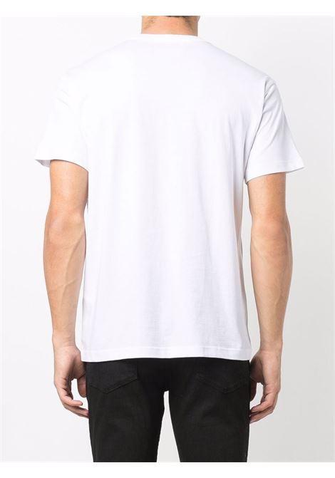 T-shirt bianca VERSACE JEANS COUTURE | T-SHIRT | 71GAHT19CJ00T71UP601003