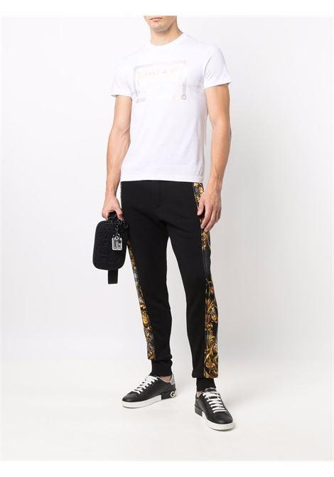 T-shirt bianca VERSACE JEANS COUTURE | T-SHIRT | 71GAHT27CJ00T71UP600G03