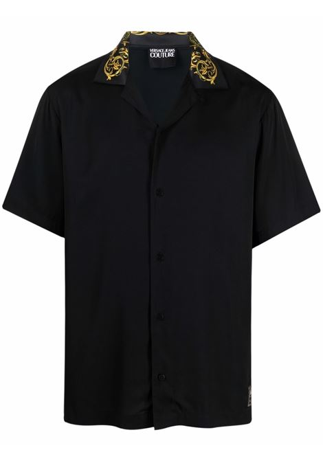 Camicia nera VERSACE JEANS COUTURE | CAMICIE | 71GAL2B1N000971UP202899