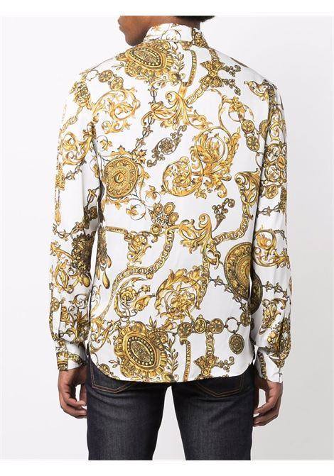 Camicia bianca VERSACE JEANS COUTURE | CAMICIE | 71GAL2S0NS00771UP201G03