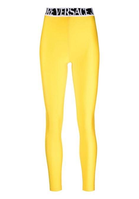 Leggings giallo VERSACE JEANS COUTURE   71HAC101N000871DP101618