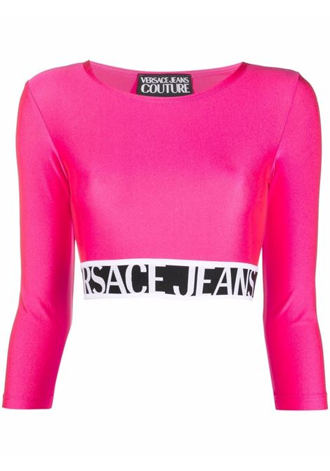 Fuchsia top VERSACE JEANS COUTURE | TOP | 71HAH218N000871DP218413