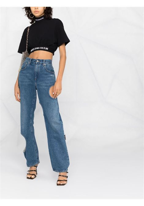 Top nero VERSACE JEANS COUTURE | 71HAH6A9J001271DP609899