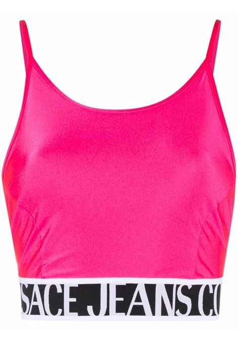 Top fucsia VERSACE JEANS COUTURE | TOP | 71HAM214N000871DP214413