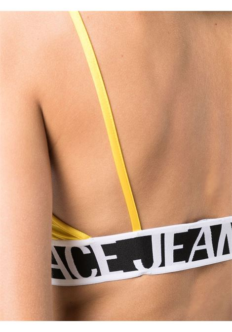 Top giallo VERSACE JEANS COUTURE | TOP | 71HAM214N000871DP214618