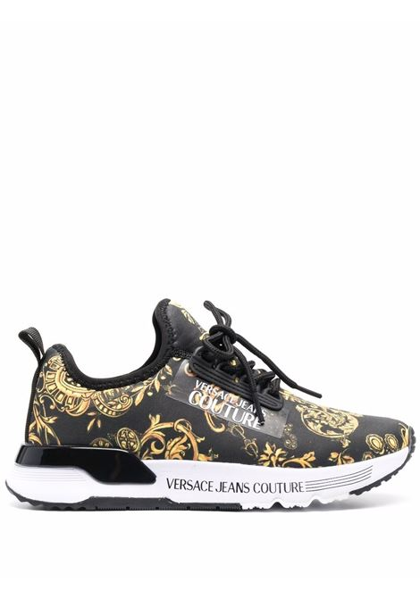 Black sneakers VERSACE JEANS COUTURE | 71VA3SA5ZS017G89