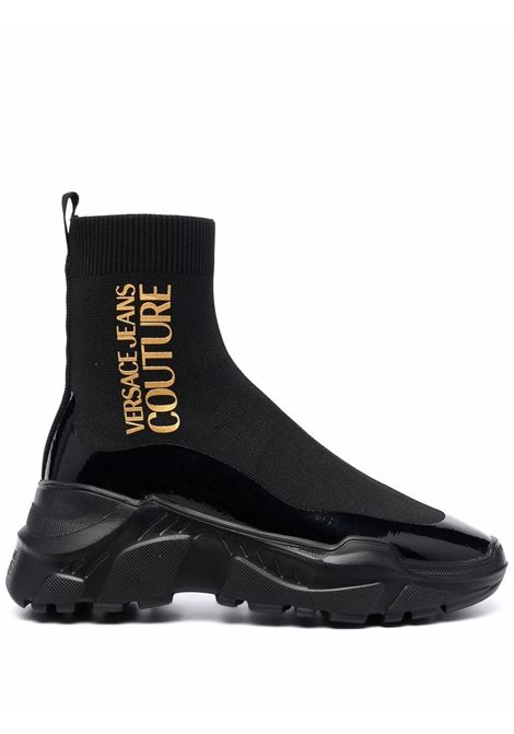 Sneakers nera VERSACE JEANS COUTURE | 71VA3SC5ZS022899