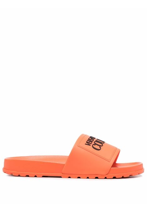 Orange slides VERSACE JEANS COUTURE | 71YA3SQ271353550