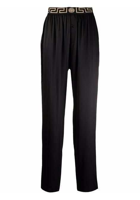 Black trousers VERSACE | 10009461A009861B000