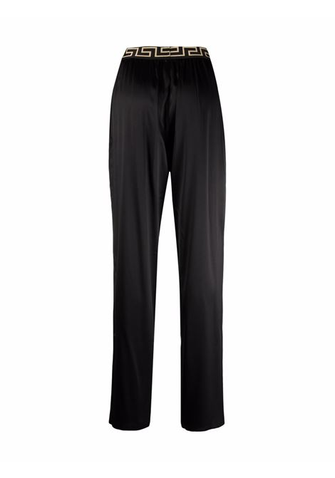 Black trousers VERSACE | TROUSERS | 10009461A009861B000