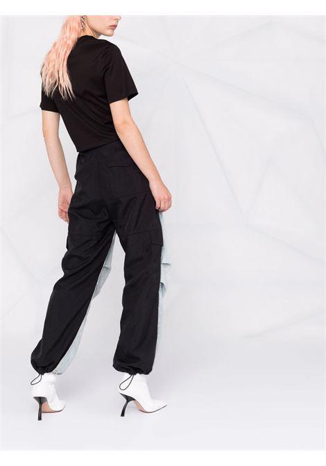 Black t-shirt VERSACE | T-SHIRT | 10010071A007692B070