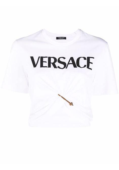 T-shirt bianca VERSACE | 10010071A018732W070