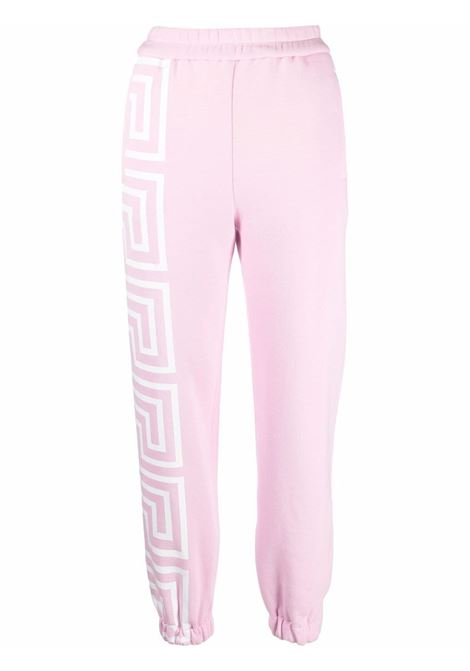 Pink track pants VERSACE | 10010531A011742P100